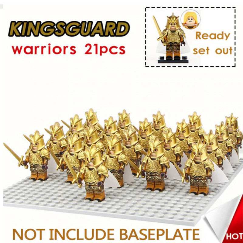 Kingsguard warriors Game of Thrones inspired 21 pcs action figures