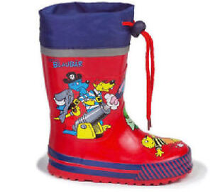 Stiefel Gummistiefel Regenstiefel BLAUBÄR 24 Kinderstiefel Outdoor-Stiefel NEU