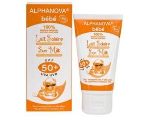 CREME-SOLAIRE-BEBE-BIO-SPF-50-ALPHANOVA-TUBE-50-GR