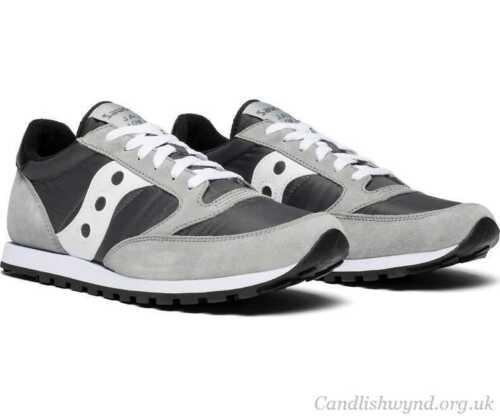 Chaussures Original 248 Sneaker GrisS2866 Gr9 Jazz Saucony Nouveau Hommes 5 Lowpro LcA354jSRq