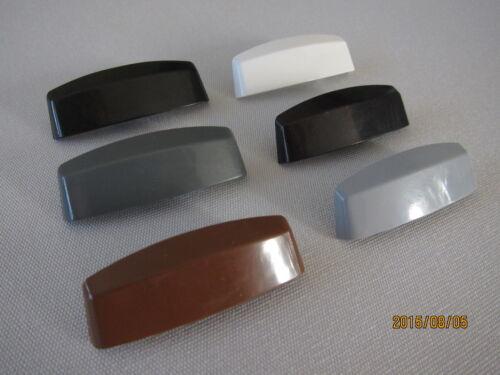 L/' eau fente casquettes 10 pcs pour pvc-fenêtre Golden Oak ws37 pour schüco uvm