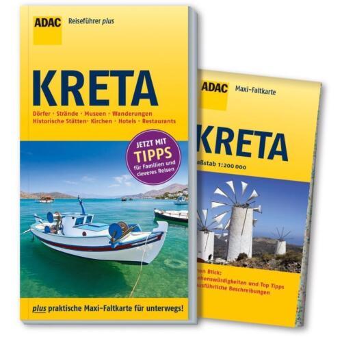1 von 1 - REISEFÜHRER Kreta mit Wanderungen, ADAC + große Landkarte, UNGELESEN WIE NEU