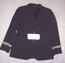 Vintage United Airlines Stewardess Uniform Jacket Coat size 8