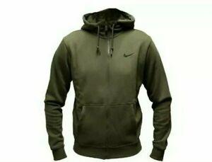 nike hoodie khaki