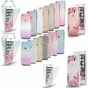 iPhone-7-Case-Shock-Proof-Crystal-Clear-Soft-Silicone-Gel-Bumper-Cover-Slim