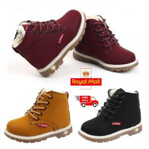 Children-Kids-Baby-Boys-Girls-Casual-Winter-Warm-Martin-Sneaker-Boots-Shoes-1-6T