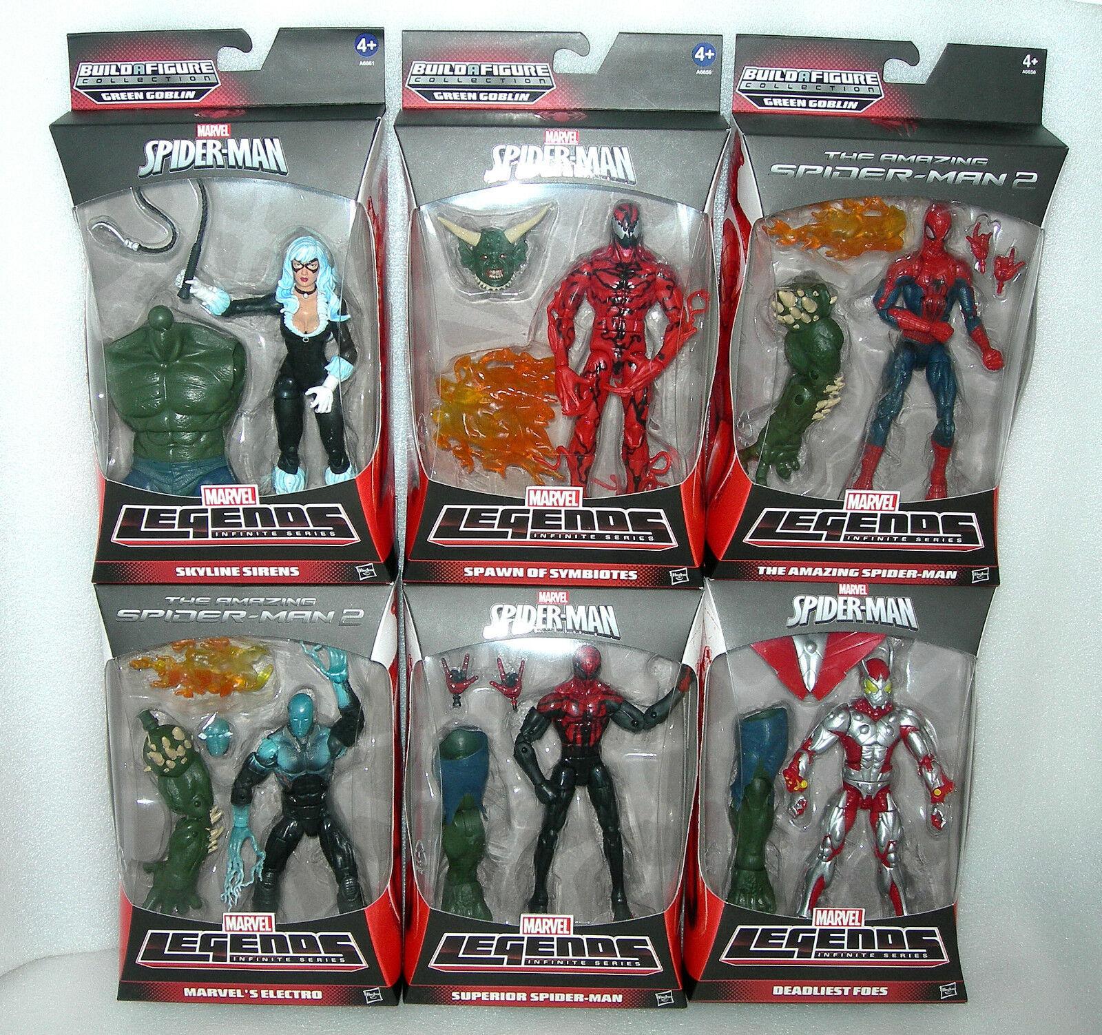 Marvel Amazing Spider-Man Legends 6  Séries infinies figures-ASST-Dod