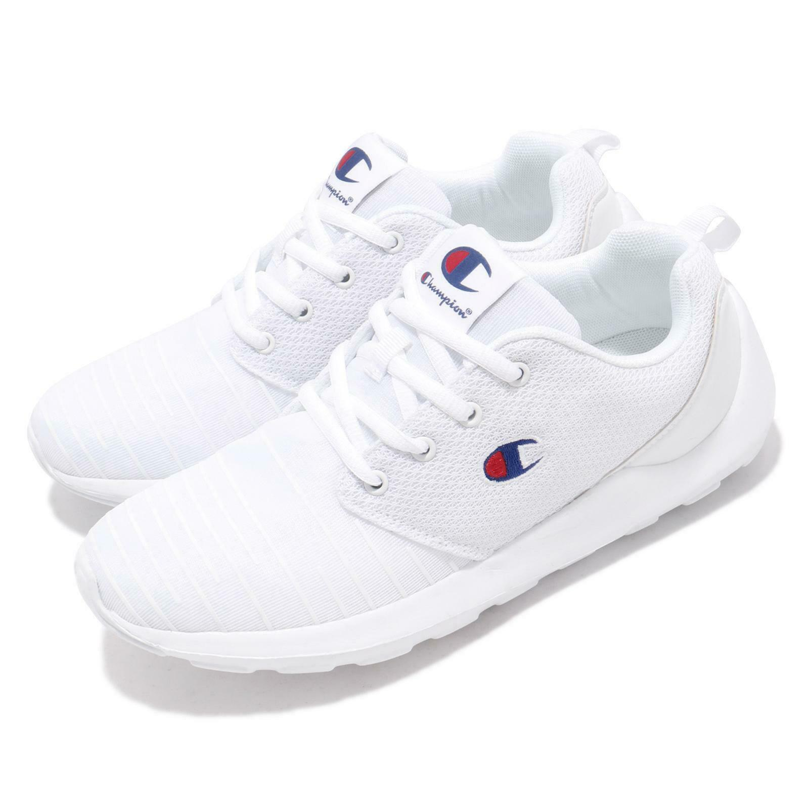 Champion Campus A I blanco rojo azul Men Casual Lifestyle zapatos zapatilla de deporte 91-1210200