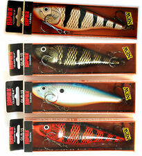 4 lures x Rapala GLIDIN' RAP GLR-15 color BBR BBL OBFL BRE- Discontinued Set 02