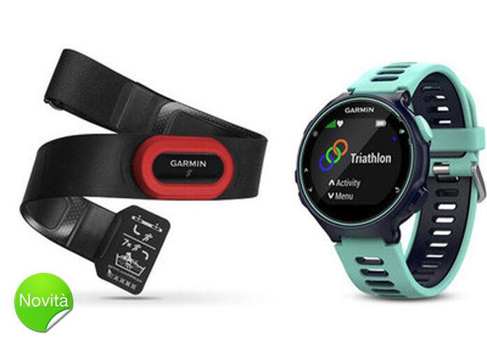 OROLOGIO GARMIN FORERUNNER 735XT 735XT FORERUNNER Run Bundle Cardio GPS Multisport smartwatch d32d7d