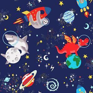 Over-The-Arc-En-Ciel-90922-Espace-Animaux-Brille-dans-le-Noir-Peint-Marine-Kids