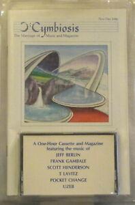 CYMBIOSIS Vol 1 No 2 Cassette+Zine T LAVITZ Jeff Berlin UZEB Frank Gambale, etc
