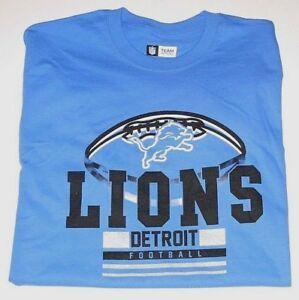 detailing 33012 c4024 Details about Detroit Lions T-Shirt Men's size Med, Large or XL New w/Tag