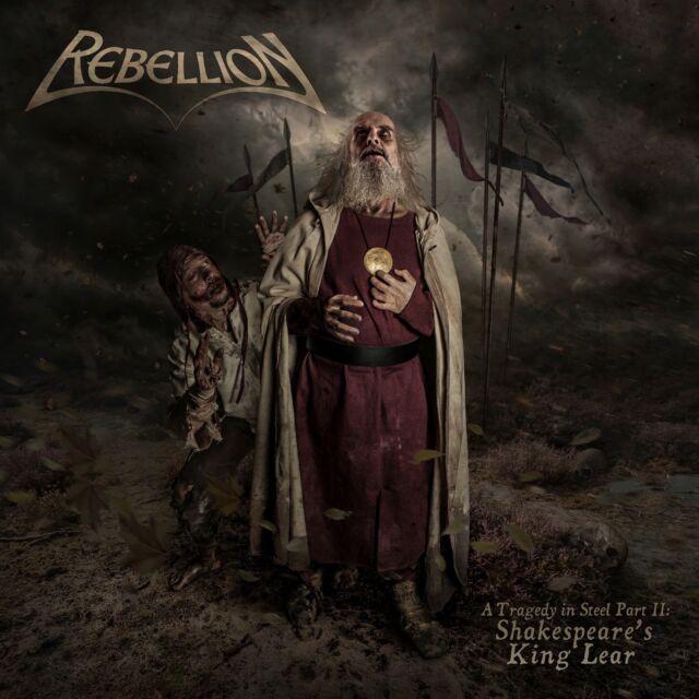 REBELLION - A Tragedy In Steel Part II:Shakespeare's King Lear - Digi-CD- 206006