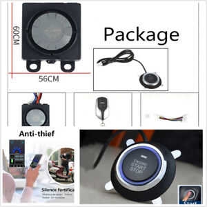 Mini-Scooter-Motorcycle-Anti-theft-Security-Alarm-Device-One-button-Start-GPS