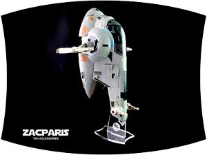Slave One Acrylic Display Stand for Hasbro SLAVE 1  Vehicles