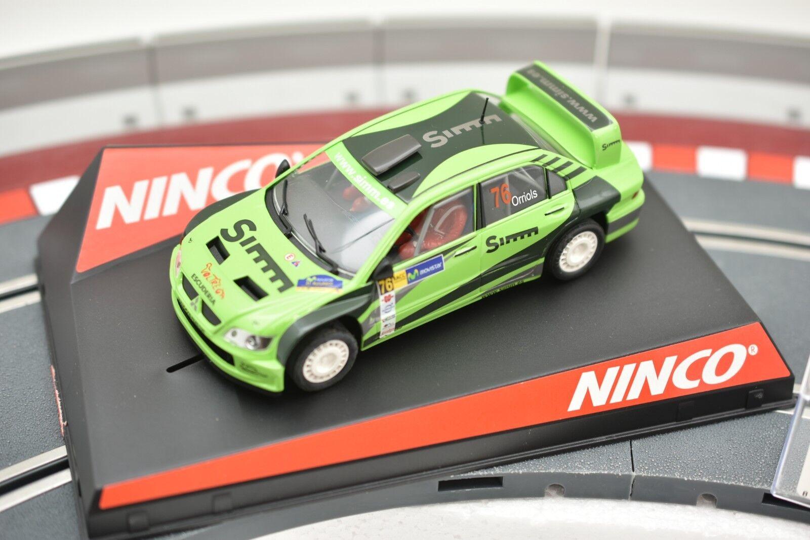 50436 NINCO 1 32 SLOT CAR MITSUBISHI LANCER SIMM