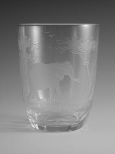 ROWLAND WARD Crystal - Tumbler Glass / Glasses - ELEPHANT
