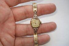 Vintage Waltham 25 Jewel R.G.P Swiss Wrist Watch For Parts or Restoration