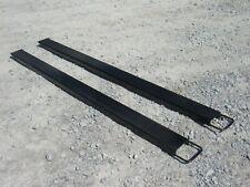 84 Long Slide On Pallet Fork Extensions For Forklifts And Loaders Usa Steel