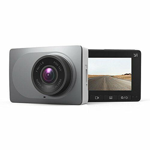 "YI 2.7/"" Screen Full HD 1080P60 165 Wide Angle Dashboard Camera Car DVR Vehicle"