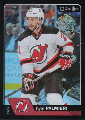 16/17 O-PEE-CHEE OPC RAINBOW BLACK #472 KYLE PALMIERI /100 DEVILS *22802 IJshockey Verzamelingen