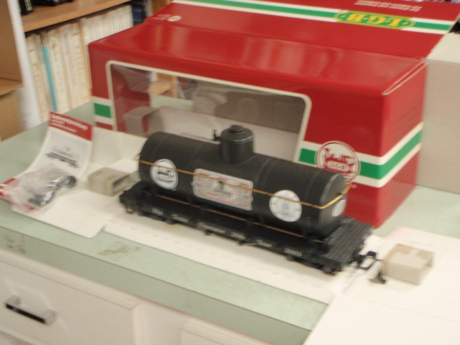 LGB G calibre 43805 Negro 25TH aniversario coche del tanque en caja original como nuevo petrolero