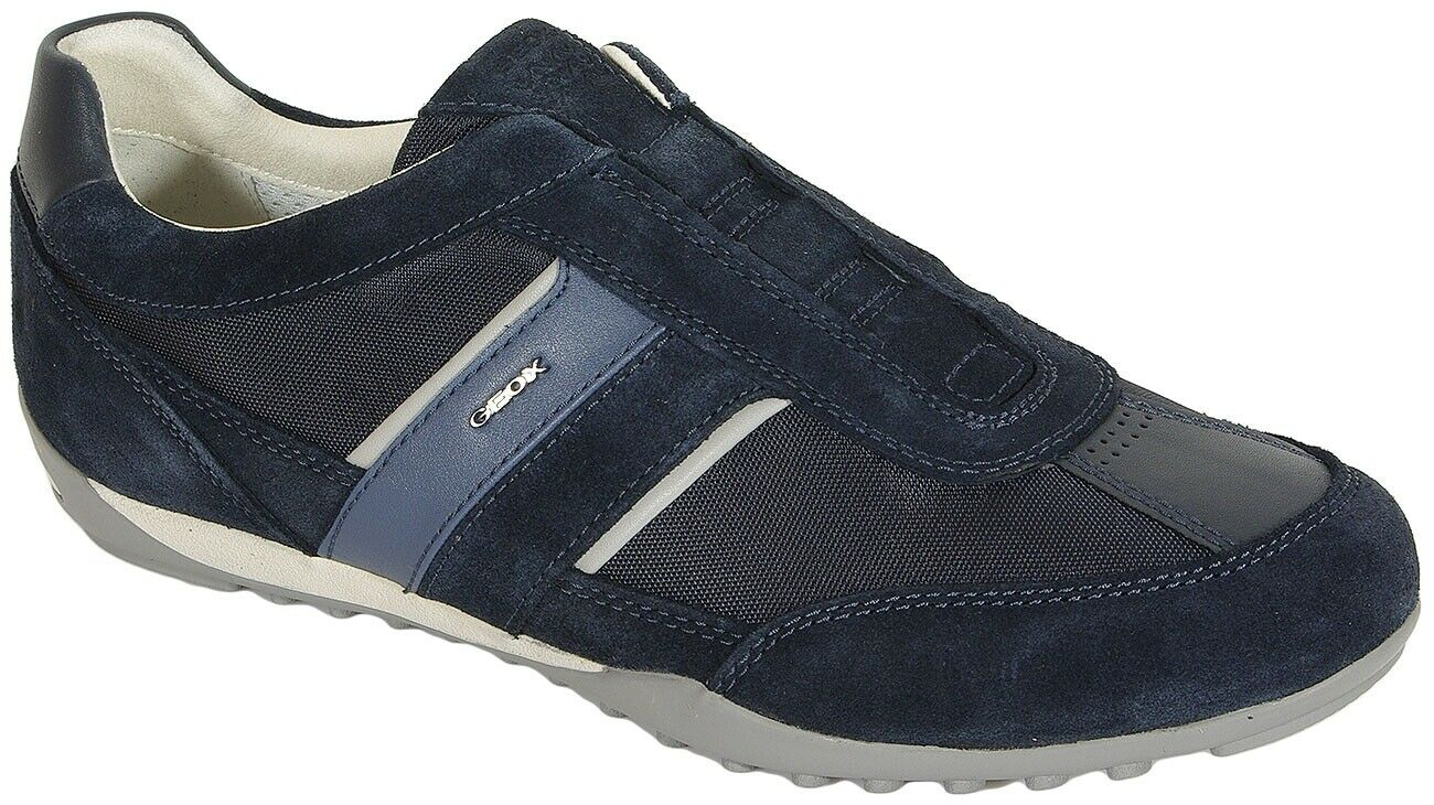 Sale   GEOX Wells A Turnschuhe sale tex+suede navy