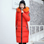 2018 Fashion Women/'s Winter Down Coat Thick Long Cotton Parka Hooded Warm Jacket