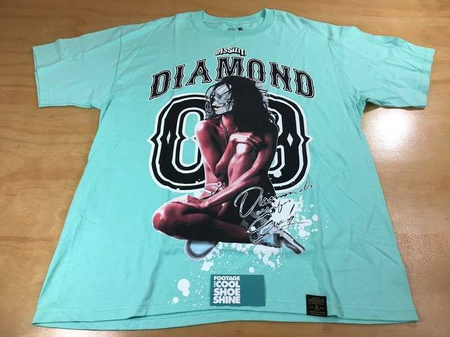 Dissizit  x Diamond Supply Co. Diamonds Are Forever Short Sleeve Tee Shirt Sz XL