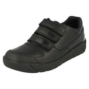 Zapatos Colegio Clarks Lite ' De Negro Niños Flare qOOwEAIH