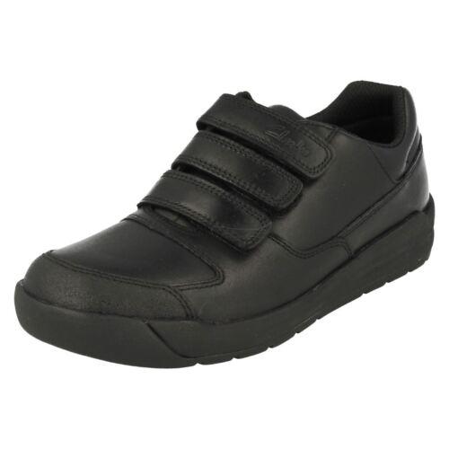 Zapatos Flare ' Lite Negro Clarks De Colegio Niños qpWxwpgvTO