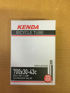26x1 650C Kenda Schrader Bike Tube 571ISO Schwinn S-7 26 x 1 1 1//8 3//4 Charity!