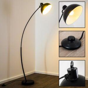 Lampada terra stelo nero metallo luce design spot studio for Design stanza ufficio