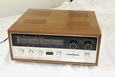 SANSUI QS-500 Quadraphonic Synthesizer Rear Channel Amplifier Quad Tested Works!