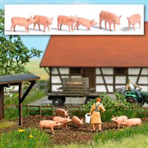 Busch-1172-Six-Pigs-H0