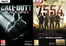 Call of Duty  Black Ops II & 7554 - Glorious Memories Revived   new&sealed