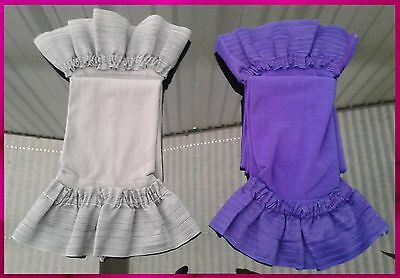 Grey or Purple HOLD UPS Size Small Medium       stockings
