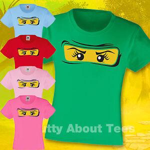 Girls-Ninjago-T-shirt-Ages-3-15-Christmas-gift