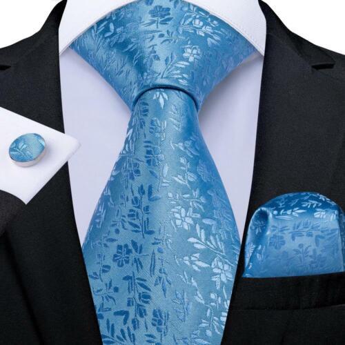 Paisley Check Novelty Red Green Blue Teal Silk Tie Set Mens Necktie Wedding Gift