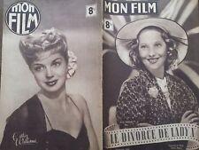 """MON FILM 1947 N° 26  """" LE DIVORCE DE LADY X """" avec MERLE OBERON."""