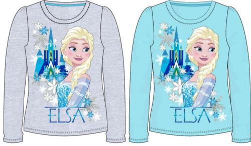 Frozen Langarm Shirt türkis oder grau Disney Die Eiskönigin