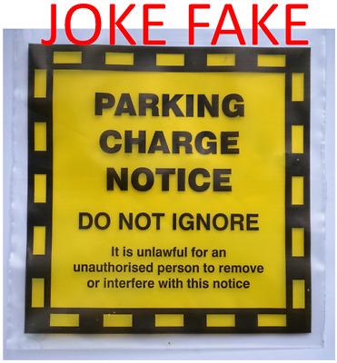 12 Pcs Parking Tickets Funny Joke Penalty Charge Notice Prank Tickets Fine Prank
