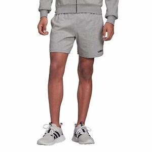 Details zu adidas Performance Herren Trainingsshort Essentials Plain Short Jersey grau