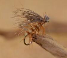 ELK HAIR CADDIS      Size 14     Olive Yellow Dk Brown or Tan