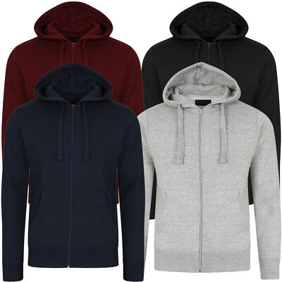 New Mens Dissident Dignum Classic Fleece Lined Hoodie Hooded Sweater Size S-XXL