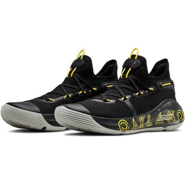 sale retailer 48932 38ac3 Men's Under Armour Curry 6 Shoes Size 8-14