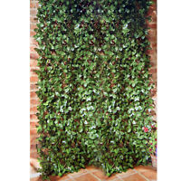 Artificial Laurel Leaf Trellis Outdoor Garden Transforms Wall Or Fence Screening