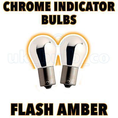 BMW e36 Compact chrome silver vision Clignotants Ampoules Clignotant Lampes bau15s