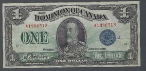 1923-DC-25h-Dominion-of-Canada-One-Dollar-VF-25